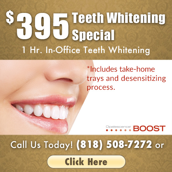 Opalescence Boost, 1 Hr. in-office Teeth Whitening for $395